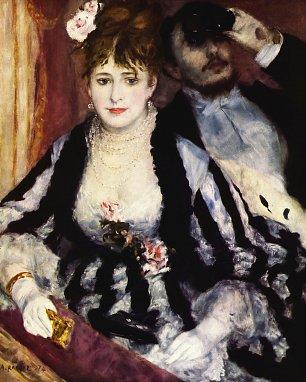 Auguste Renoir Die Loge Wandbilder