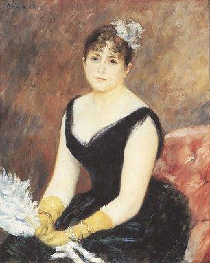 Auguste Renoir Portrait von Madame Clapisson Wandbilder