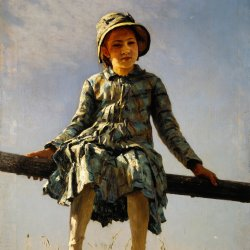 Ilya-Repin-Dragonfly-Painters-daughter-portrait