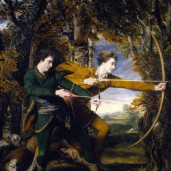 Joshua-Reynolds-Colonel-Acland-and-Lord-Sydney-The-Archers