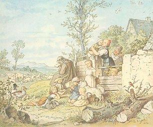 Ludwig Richter Fruehling Wandbilder