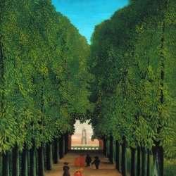 Henri-Rousseau-The-Avenue-in-the-Park-at-Saint-Cloud