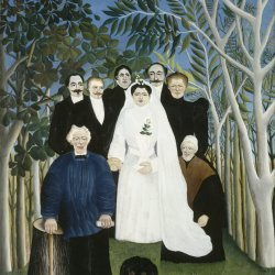 Henri-Rousseau-The-Wedding-Party