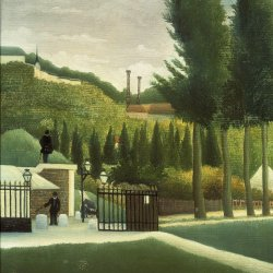 Henri-Rousseau-Toll-Gate-The-Customs-Post