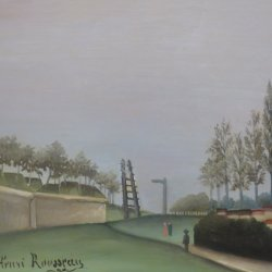 Henri-Rousseau-View-of-the-Fortifications-from-the-Porte-de-Vanves