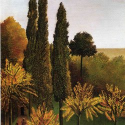Henri-Rousseau-Walking-in-the-Parc-des-Buttes-Chaumont