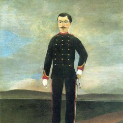 Henri-Rousseau-marshal-des-logis-frumence-biche-of-the-35th-artillery