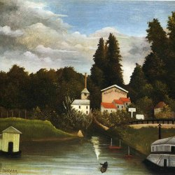 Henri-Rousseau-the-mill-at-alfor