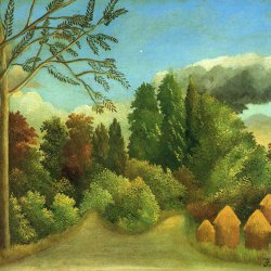 Henri-Rousseau-view-of-the-banks-of-the-oise