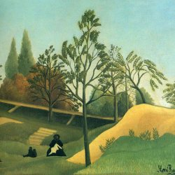 Henri-Rousseau-view-of-the-fortifications