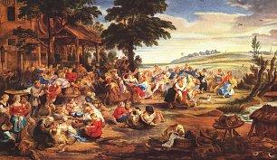 Rubens Bauernkirmes Wandbilder