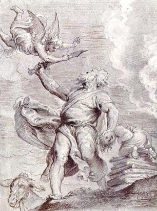 Rubens Das Opfer Abrahams Wandbilder