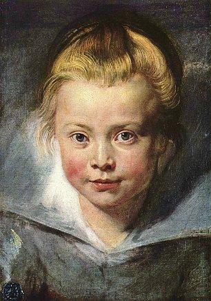 Rubens Ein Kinderkopf Clara Serena Rubens Wandbilder