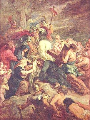 Rubens Kreuztragung Christi Wandbilder