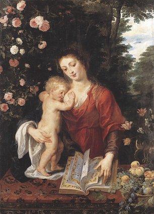 Rubens Maria mit dem Kind Wandbilder