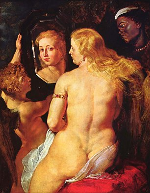 Rubens Toilette der Venus Wandbilder