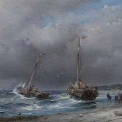 Andreas-Schelfhout-Unloading-the-catch