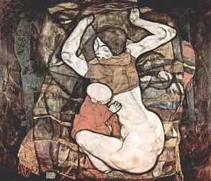 Egon Schiele Junge Mutter Wandbilder