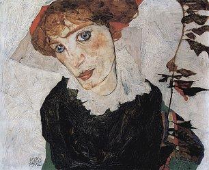 Egon Schiele Portraet von Wally Wandbilder
