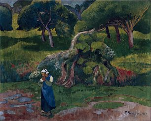 Paul Serusier Landscape at Le Pouldu Wandbild