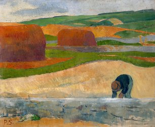Paul Serusier Seaweed Gatherer Wandbild