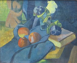 Paul Serusier Still Life with Apples and Violets Wandbild