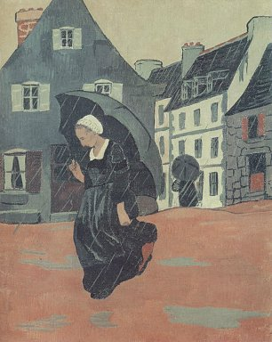 Paul Serusier The Downpour Wandbild
