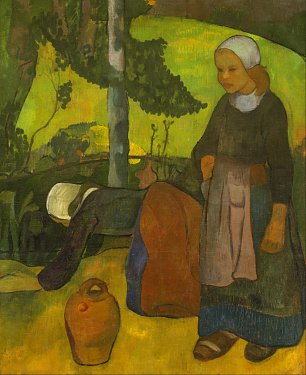 Paul Serusier Washerwomen Wandbild
