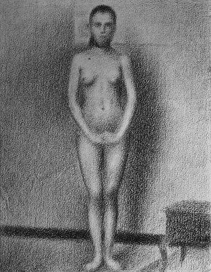 Georges Seurat Das stehende Modell Wandbilder