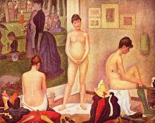 Georges Seurat Die Modelle Wandbilder