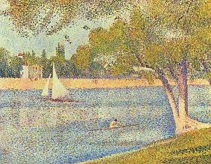 Georges Seurat Die Seine an der Grand Jatte Fruehling Wandbilder