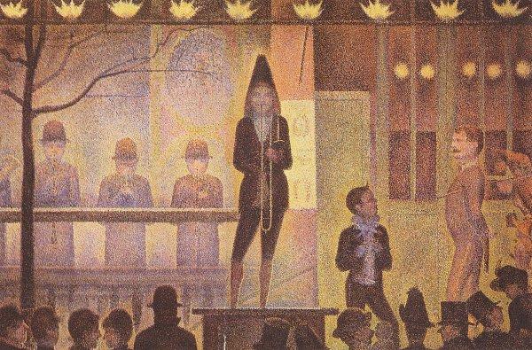 Georges Seurat Die Zirkusparade