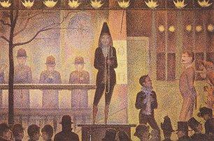 Georges Seurat Die Zirkusparade Wandbilder