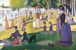 Georges Seurat Ein Sonntag auf La Grande Jatte Wandbilder