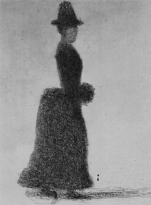 Georges Seurat Frau mit Muff Wandbilder