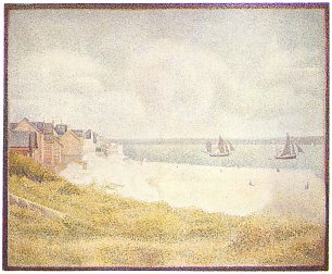 Georges Seurat Le Crotoy