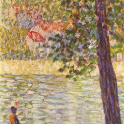 Georges-Seurat-Morgenspaziergang