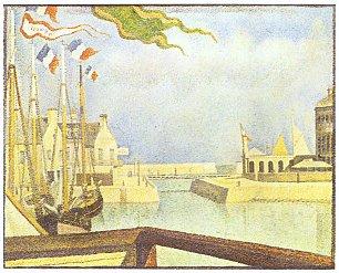 Georges Seurat Sonntag in Port en Bessin Wandbilder