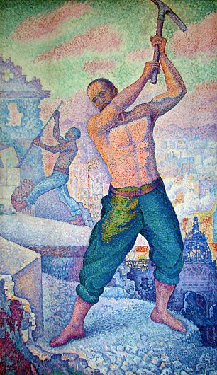 Paul Signac Le Demolisseur