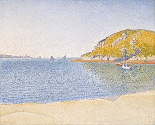 Paul Signac Port of Saint Cast Wandbild