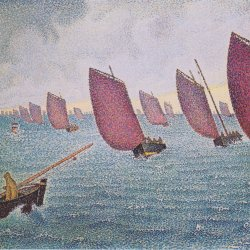 Paul-Signac-Regatta-in-Concarneau