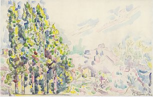 Paul Signac Saint Paul de Vence Wandbild
