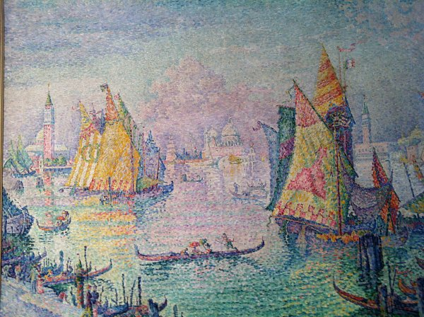Paul Signac The Lagoon of Saint Mark Venice
