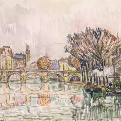 Paul-Signac-The-Pont-Neuf-Paris