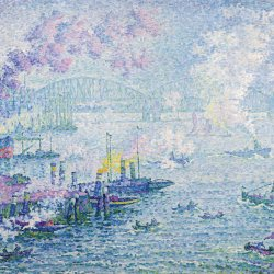 Paul-Signac-The-Port-of-Rotterdam