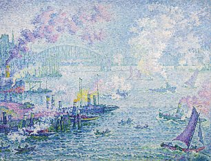 Paul Signac The Port of Rotterdam Wandbild
