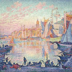 Paul-Signac-The-Port-of-Saint-Tropez