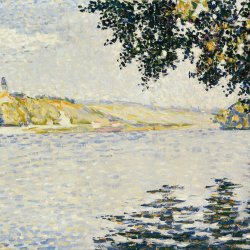 Paul-Signac-View-of-the-Seine-at-Herblay