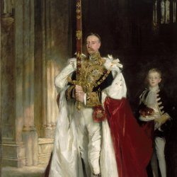 John-Singer-Sargent-Charles-Stewart-Sixth-Marquess-of-Londonderry,-Carrying-the-Great-Sword-of-State-at-the-Coronation
