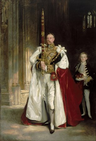 John Singer Sargent Charles Stewart Sixth Marquess of Londonderry, Carrying the Great Sword of State at the Coronation Wandbild